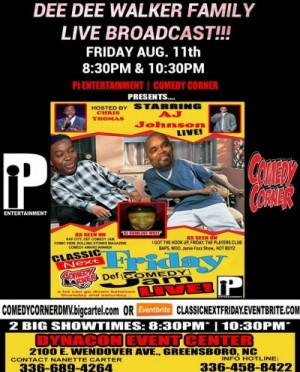 "Friday Def Comedy JAM ""LIVE & GSO"""
